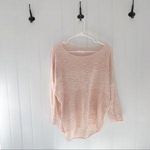 Lou & Grey Pink Knit Sweater